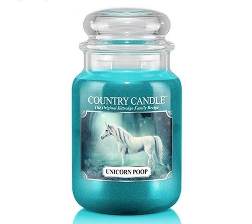 Unicorn Poop - Duży słoik - Country Candle.